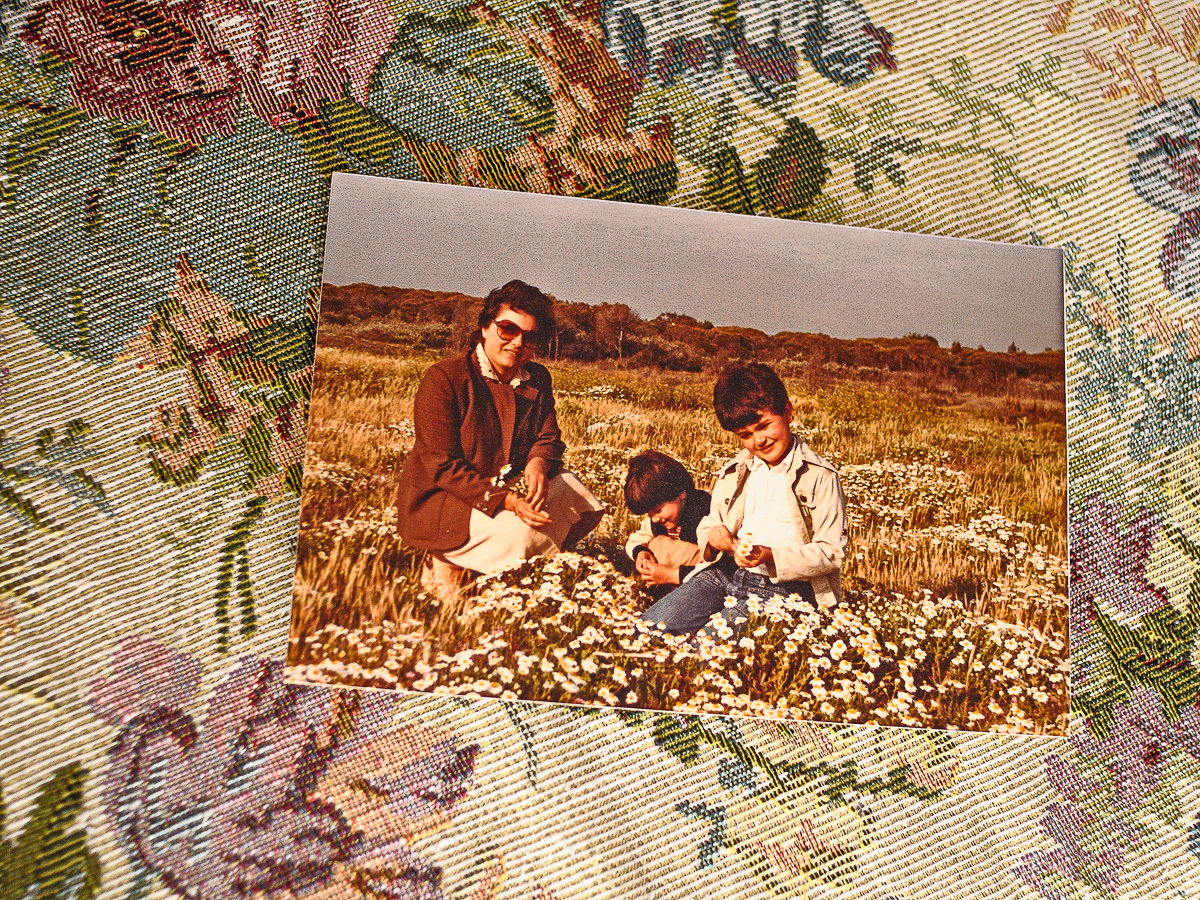 Saluti da PINETAMARE -My parents and me